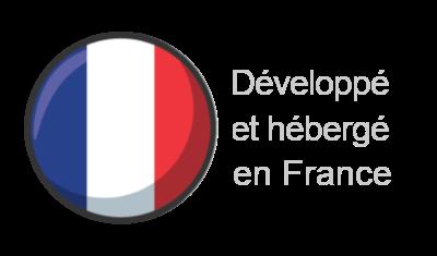 Développé et hébergé en France