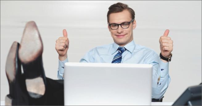 Illustration d'un client satisfait du logiciel questionnaire-pro